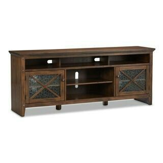 """74"""" avondale tv stand from the brick"""