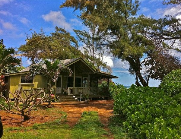 Kauai Beachfront Cottage With Acreage And Room To Grow Offered In Anahola