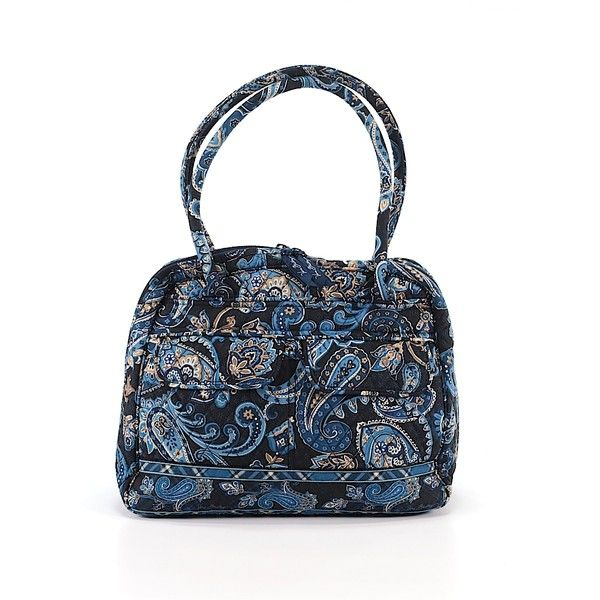 Pre-owned Vera Bradley Shoulder Bag: Blue Women's Bags ($36) ❤ liked on Polyvore featuring bags, handbags, shoulder bags, blue, blue shoulder handbags, handbags shoulder bags, vera bradley shoulder bag, man shoulder bag and white hand bags