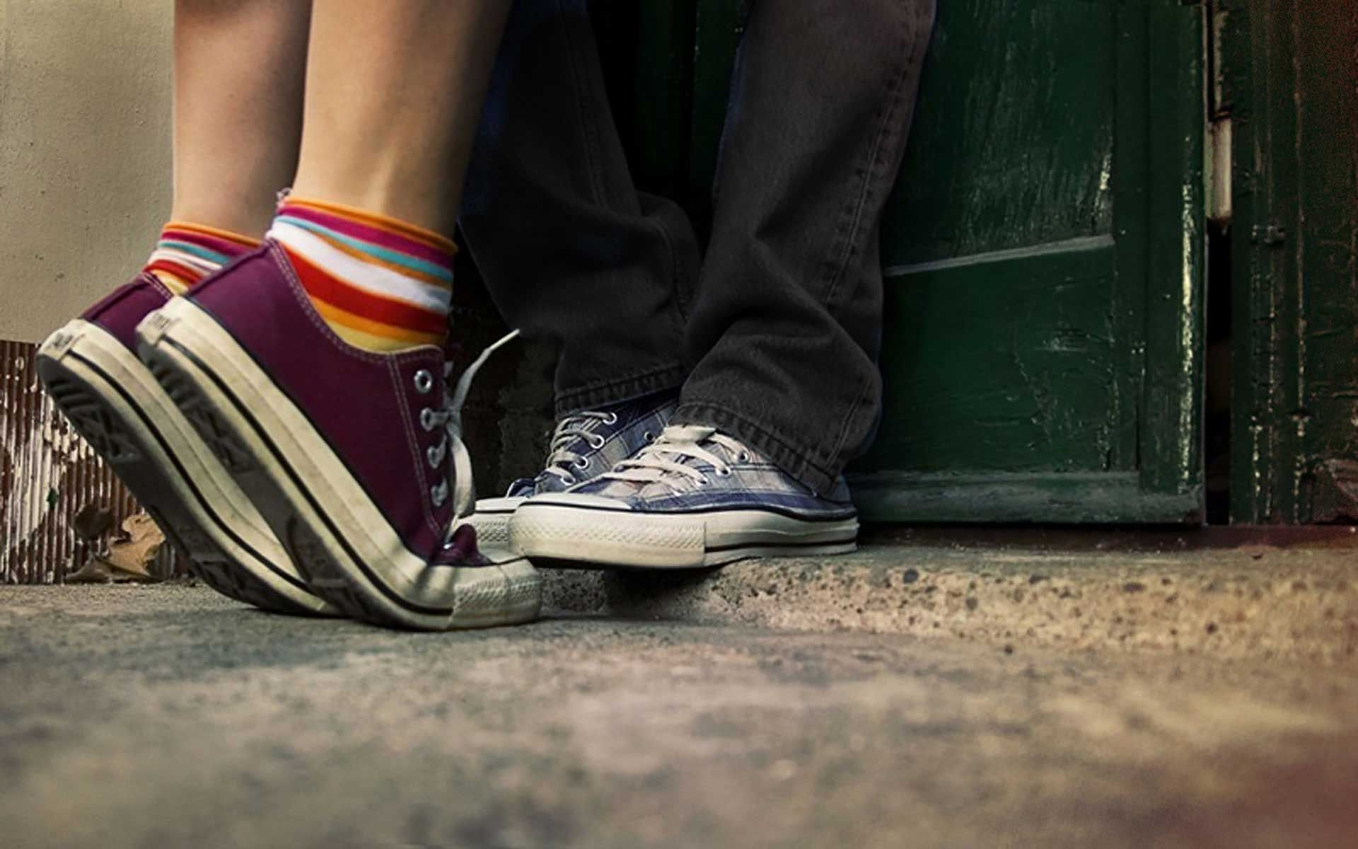 click on photo to website for lovers couple | Sneakers