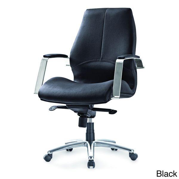 Andrew Medium Back Adjustable Office Chair Overstock