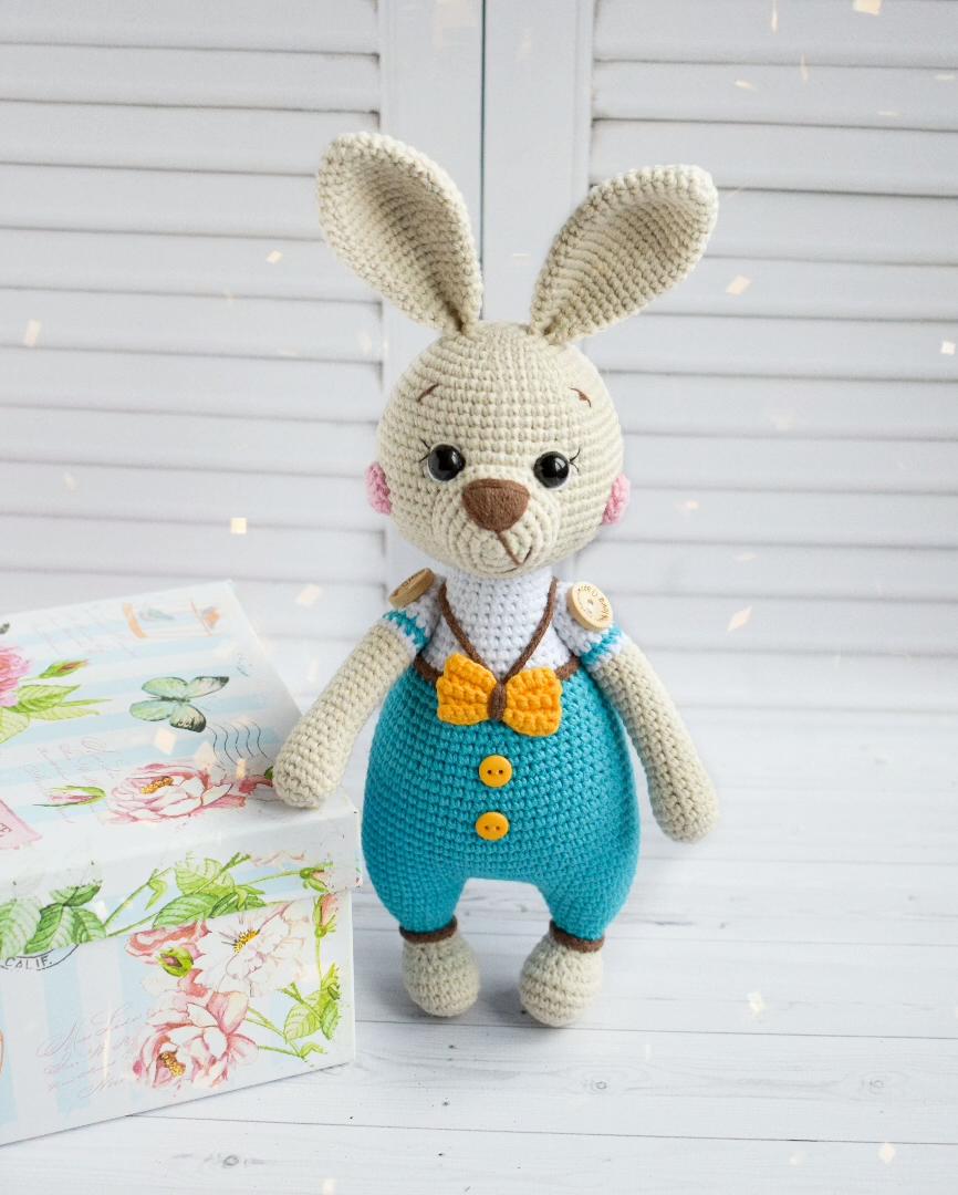 Photo of Crochet PATTERN Easter bunny Amigurumi toy Amigurumi Pattern Crochet bunny Handmade toy