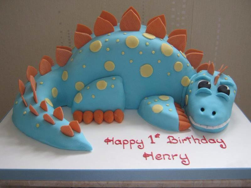 Birthday Party Ideas Dinosaur Cake More