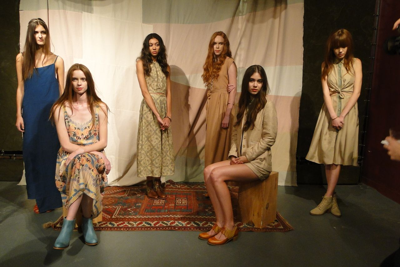 Samantha Pleet SS13 Presentation at Wolverine.