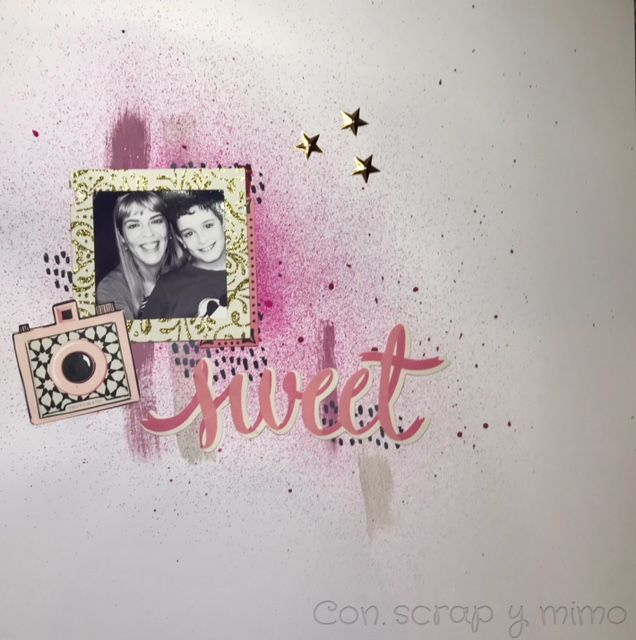 Con scrap y mimo: Layout: Sweet