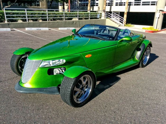 Plymouth Prowler Custom Candy Lime Green Click