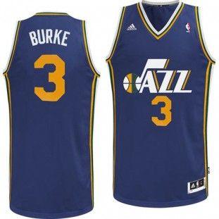 Utah Jazz Adidas NBA Trey Burke  3 Swingman Jersey (Navy)  b0ba7a228