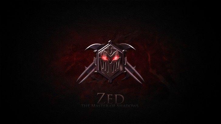 League of Legends Zed Logo Wallpaper High Definition 920 ...