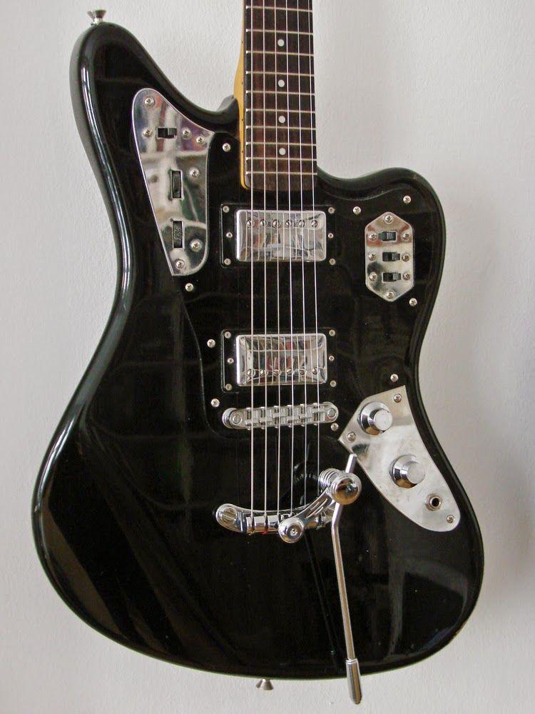 Fender Jaguar With Duesenberg Les Trem Ii Fender Jaguar Guitar Fender