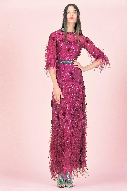 Andrew Gn Resort 2018 Fashion Show | Paletas de colores cálidos ...