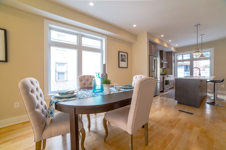 You Enter Into A First Floor Open Floor Plan With 10ft Ceilings Which Consists Of A Living Room Dining Room Kitchen And Pat Open Floor Plan Home Home Decor