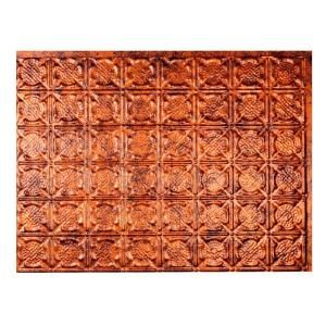 Traditional 6 PVC Decorative Backsplash Panel In Smoked