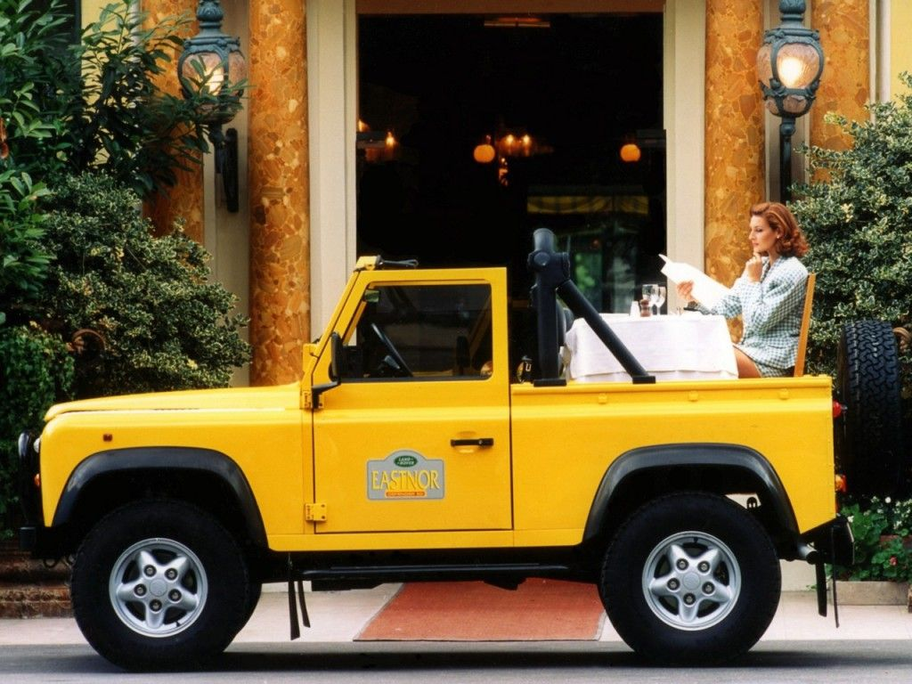 Land Rover Defender 90 Soft Top '19902007 Land rover