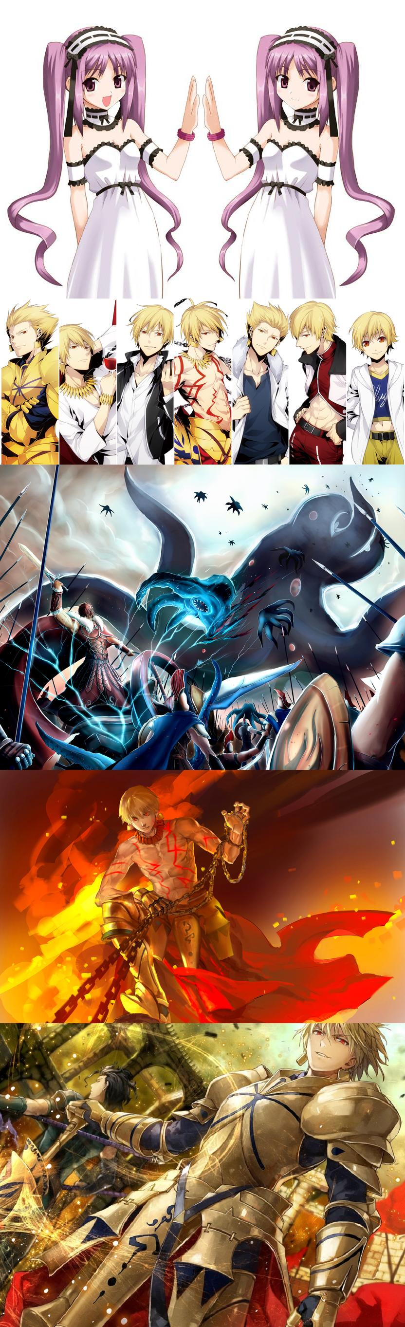 Unlimited Gilgamesh Fate stay night anime, Anime king, Anime
