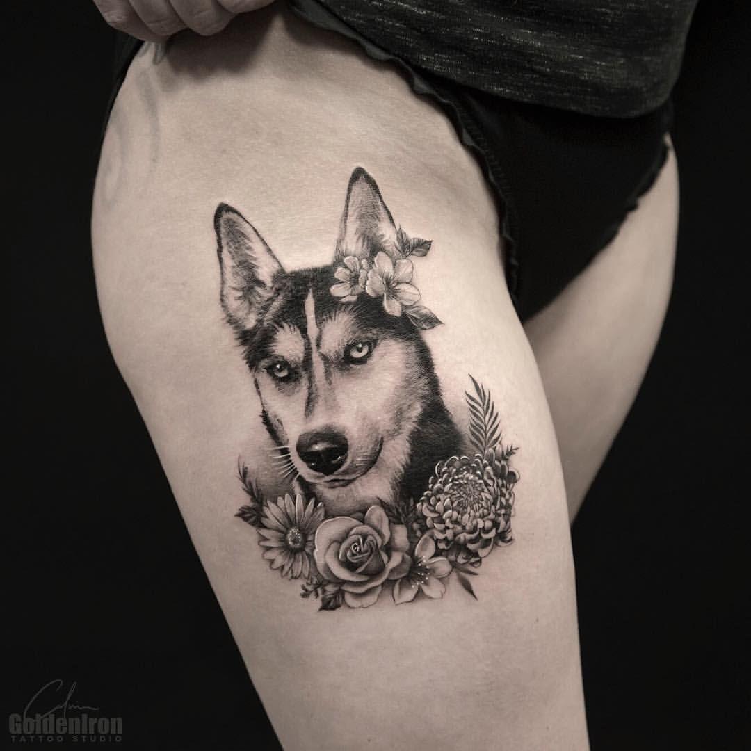"""Calvin on Instagram: """"Doggo . . . . #tattoo #tattoos #tattoooftheday #tattooartist #art #torontotattoo #beautiful #tattooed #torontotattoos #inked #toronto…"""" -  Doggo . . . . #tattoo #tattoos #tattoooftheday #tattooartist #art   - #ankletattoo #Art #Beautiful #Calvin #cooltattoo #dogtattoo #Doggo #feathertattoo #Inked #Instagram #Tattoo #tattooartist #tattooed #tattoooftheday #Tattoos #Toronto #torontotattoo #torontotattoos"""