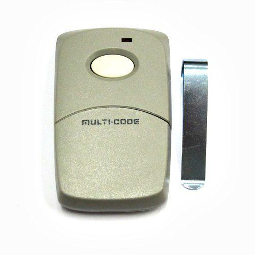 Multi Code 1 Button Remote Control Transmitter 3089 Remote Control Coding Remote