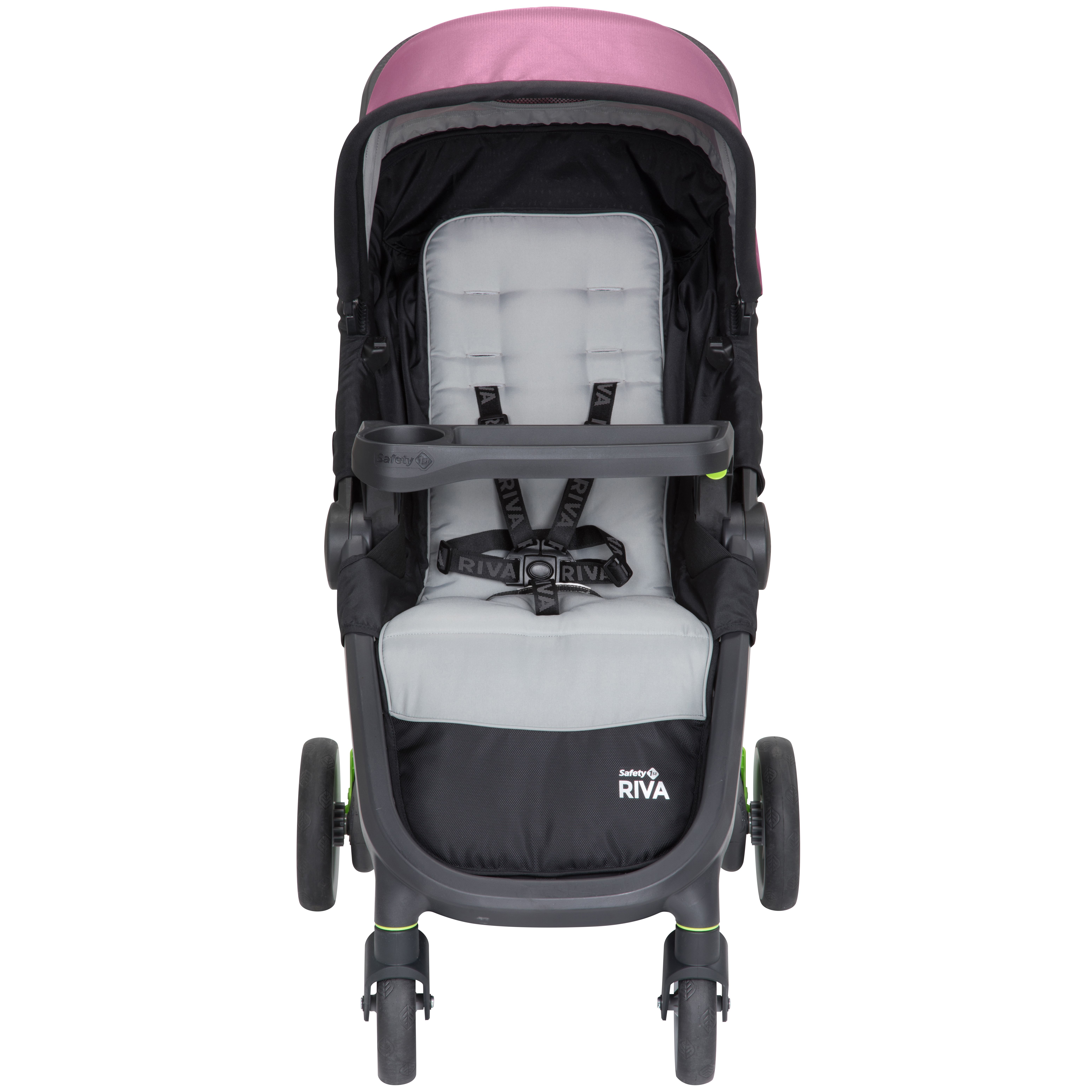 Safety 1st Riva Ultra Lightweight Travel System Stroller With