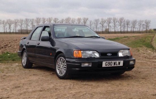 As Driven By Jeremy Clarkson On Top Gear In 2010 This Ford Sierra