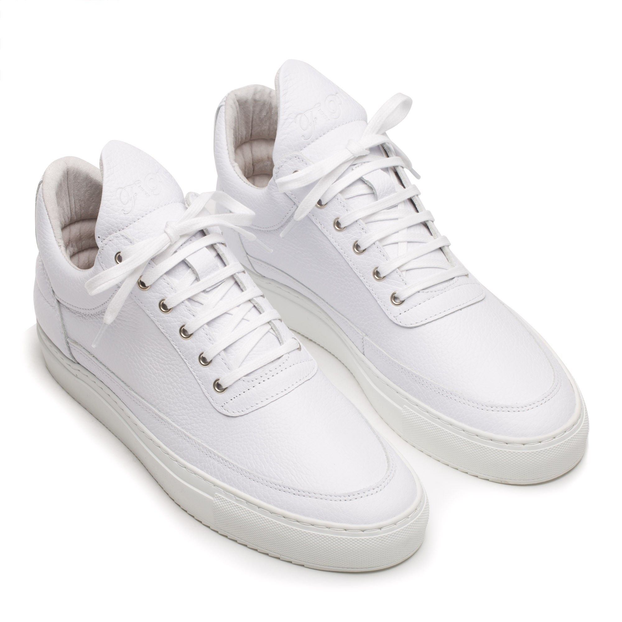 All Models : Low Top Grain White