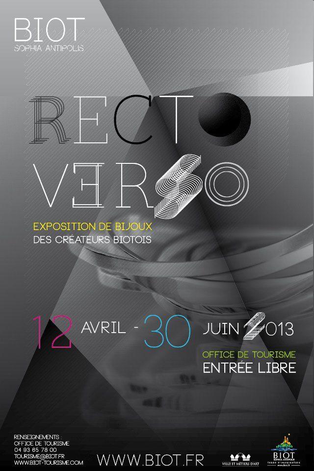 Recto-Verso à BIOT  www.biot.fr/ - - X