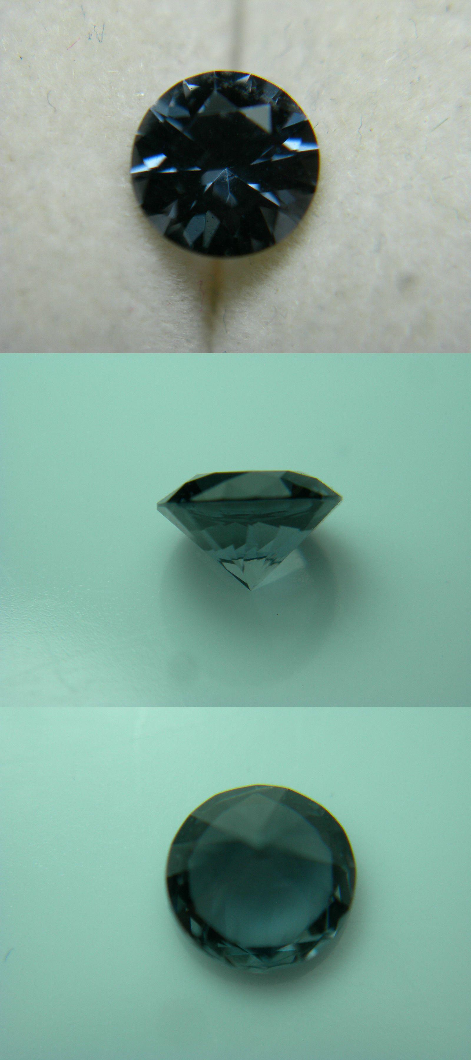 Spinel 110873: Rare Blue Spinel Gem Diamond Cut Rnd Tunduru ...