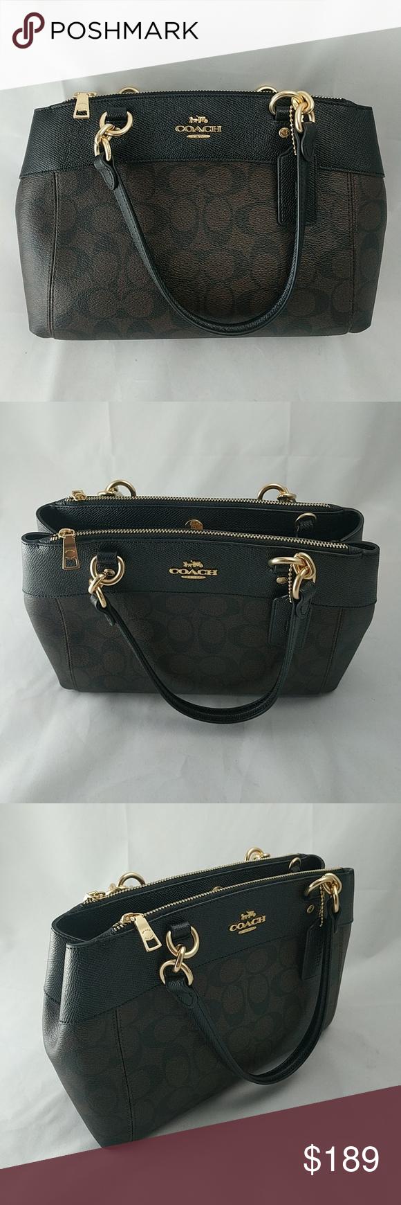 236123f853f Coach Signature Mini Brooke Carryall Handbag Brand New Coach Women s  Signature Mini Brooke Carryall Handbag. Tags still attached. Never used.