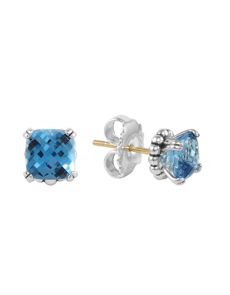 a stud blue and diamonds furst gold of with copy london topaz products earrings dynamite blackened