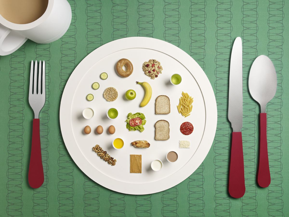 A Day on My Plate: Athletes' Meals Photographer Michael Bodiam