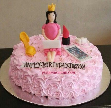 3d custom girl cake custom cakes Pinterest Girl cakes