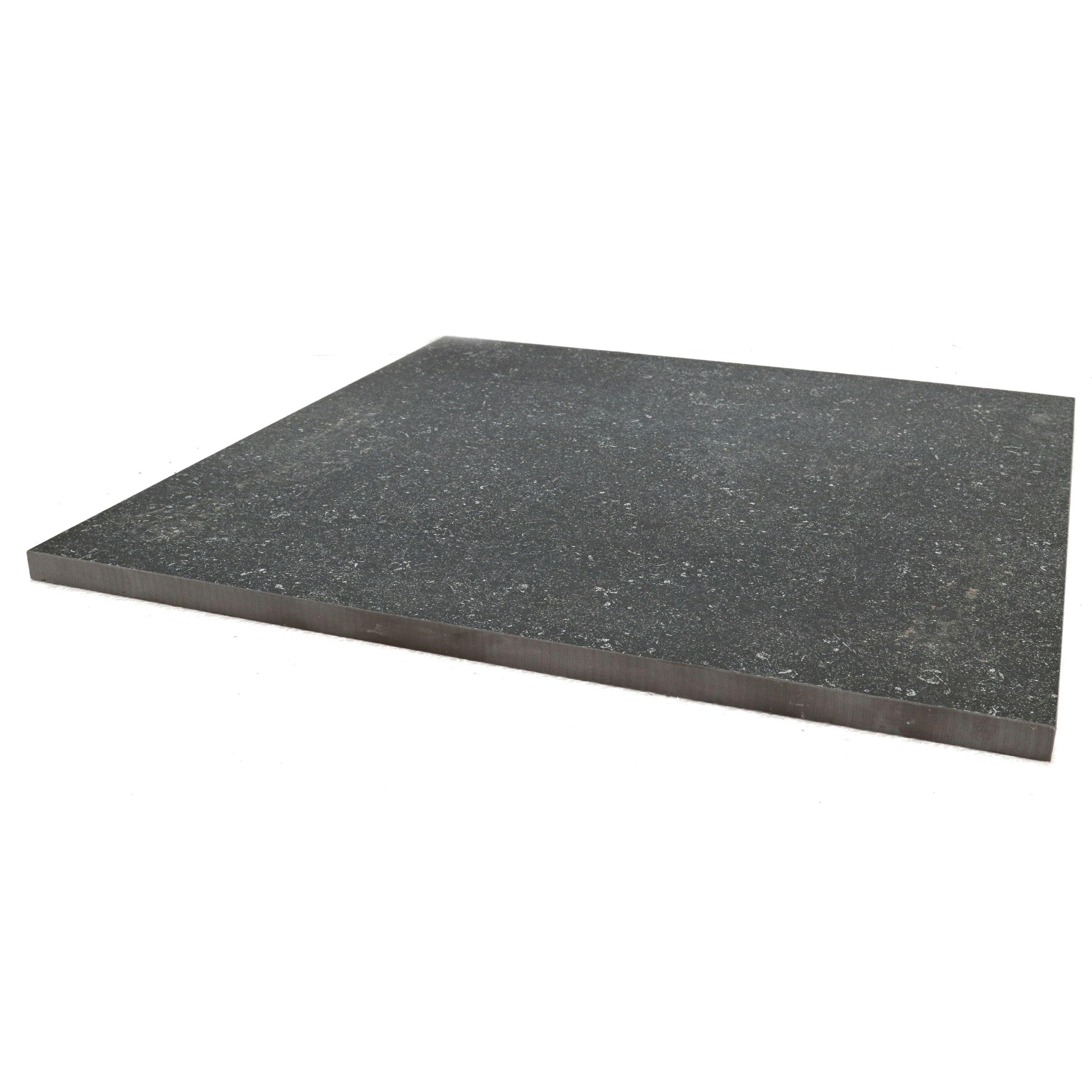 Tuintegels 60x60 Zwart.Terrastegel Keramisch Solid Stone Spots Zwart 60x60 Cm 68