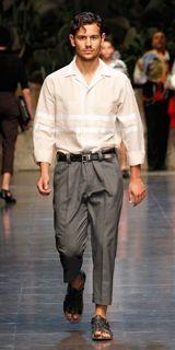 Dolce & Gabbana Collezione Uomo Sfilata Primavera Estate 2013