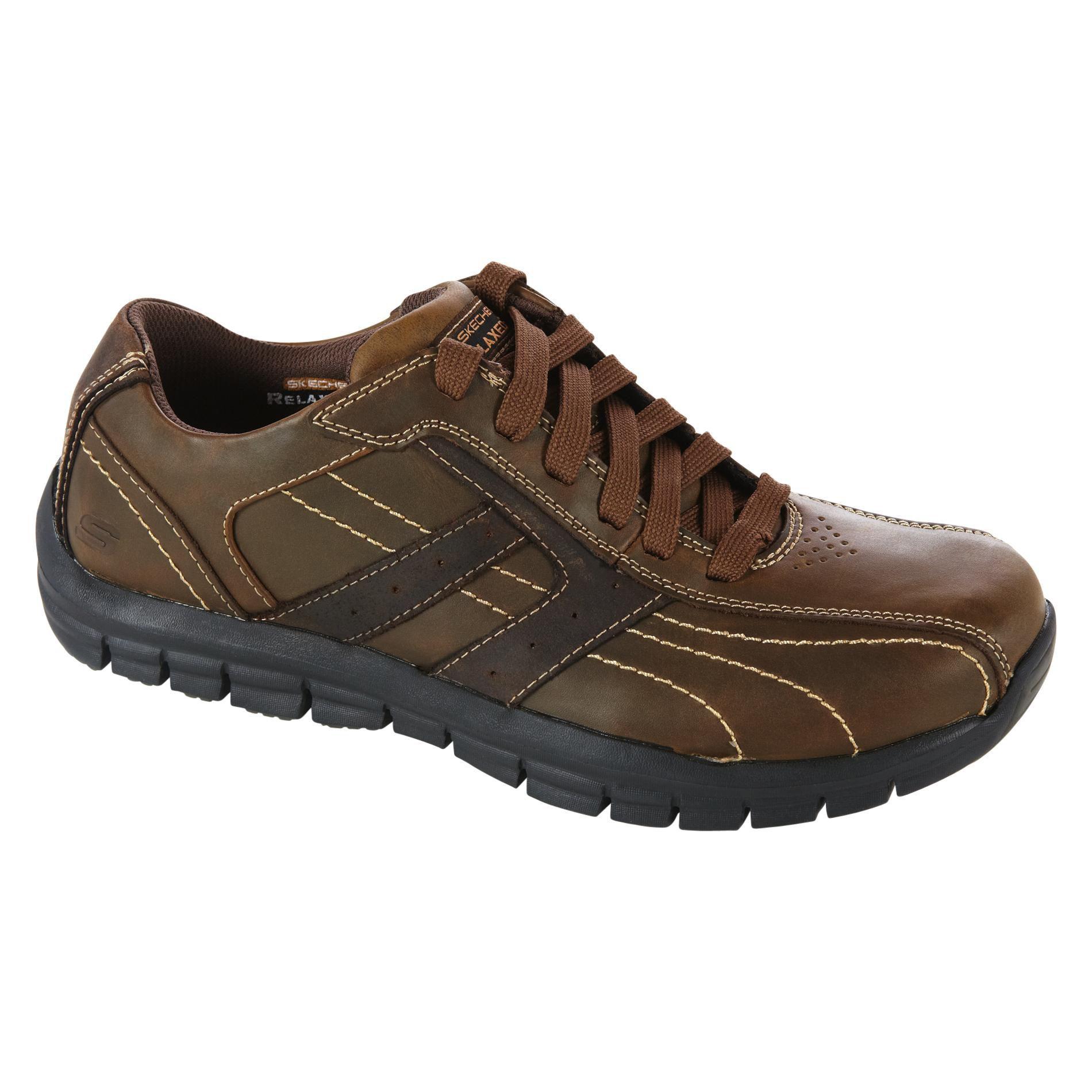Skechers Men S Marsh Casual Shoe Brown