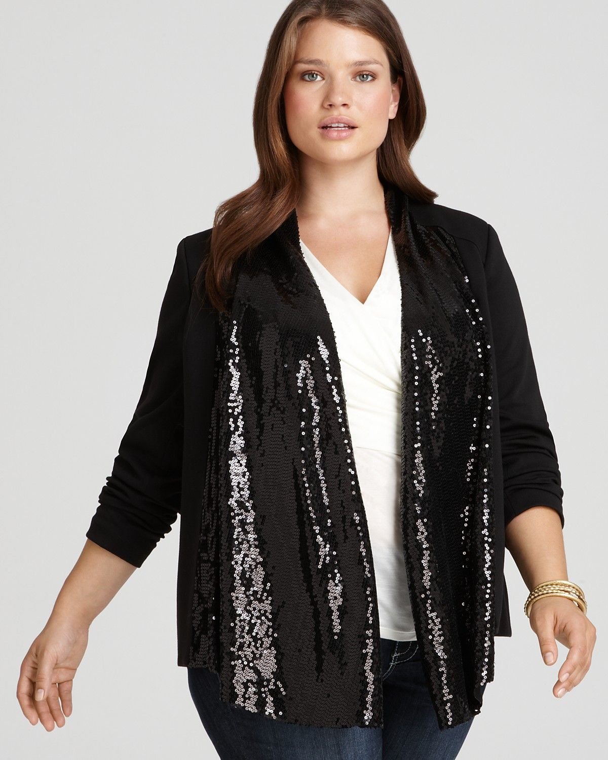 Sequin Jacket = Easy Glamour | Plump and Proud | Pinterest ...