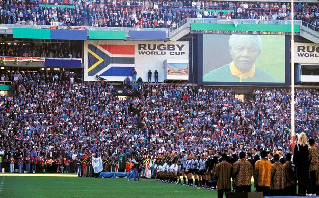 24 June 1995 Who Can Forget The Madiba Magic Of The 1995 Rugby World Cup Final At Ellis Park Where Joel Stransky S Drop Goal World Cup Rugby World Cup Rugby