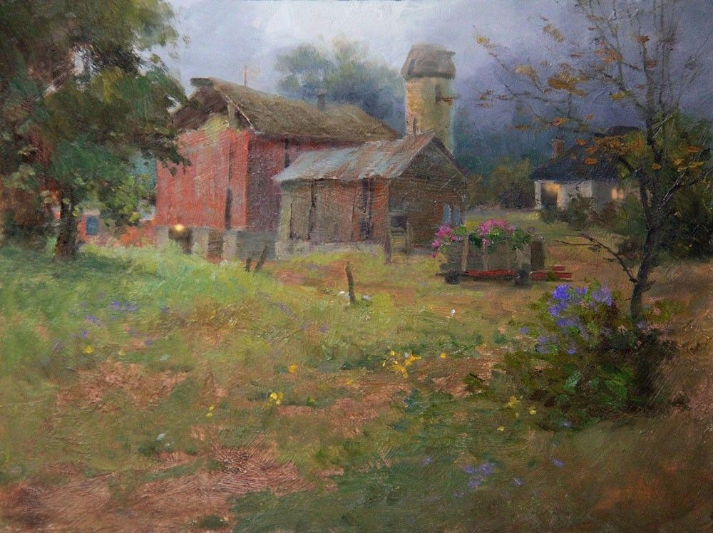Join Johannes Vloothuis For Live Plein Air Painting Instruction! |  NorthLightShop.com