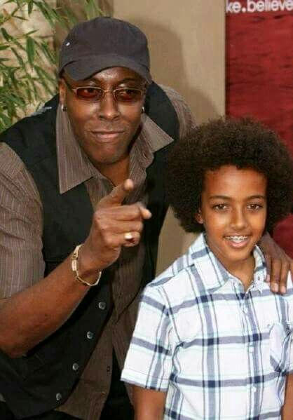 Arsenio Hall and his son | Celebrity dads, Celebrity ...