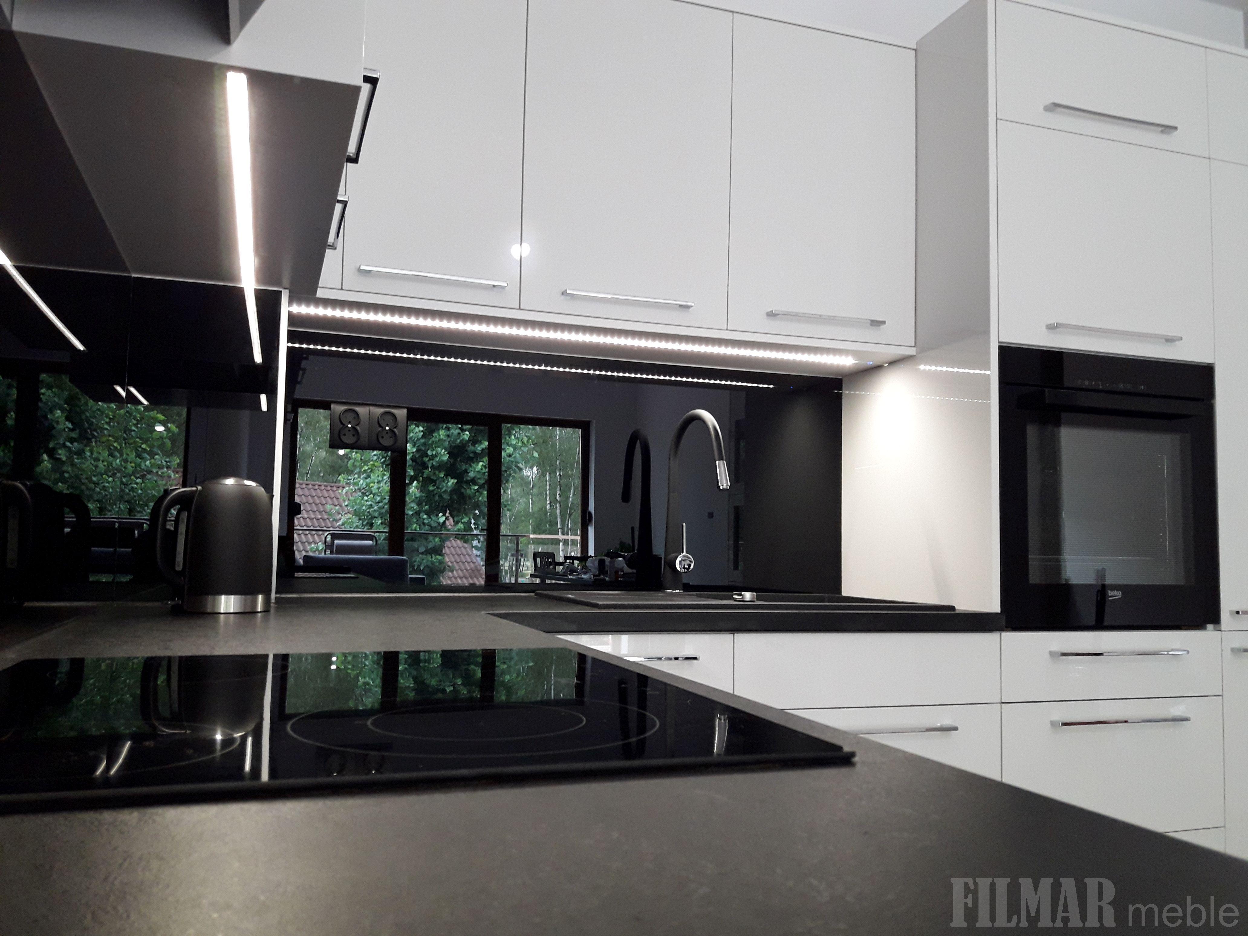 Czarno Biala Kuchnia Kitchen Appliances Home Kitchen