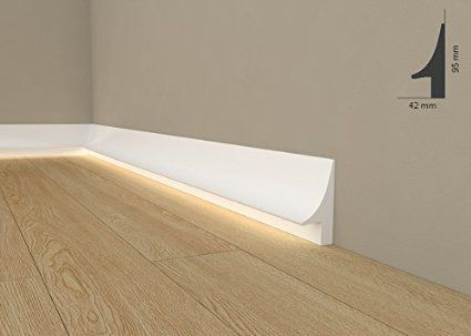 Led Baseboard Lighting With Room Licht Fuleiste