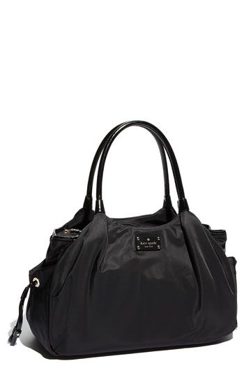Baby bags make the best work/travel totes. Easy to clean & usually less expensive - kate spade new york 'stevie' nylon baby bag | Nordstrom