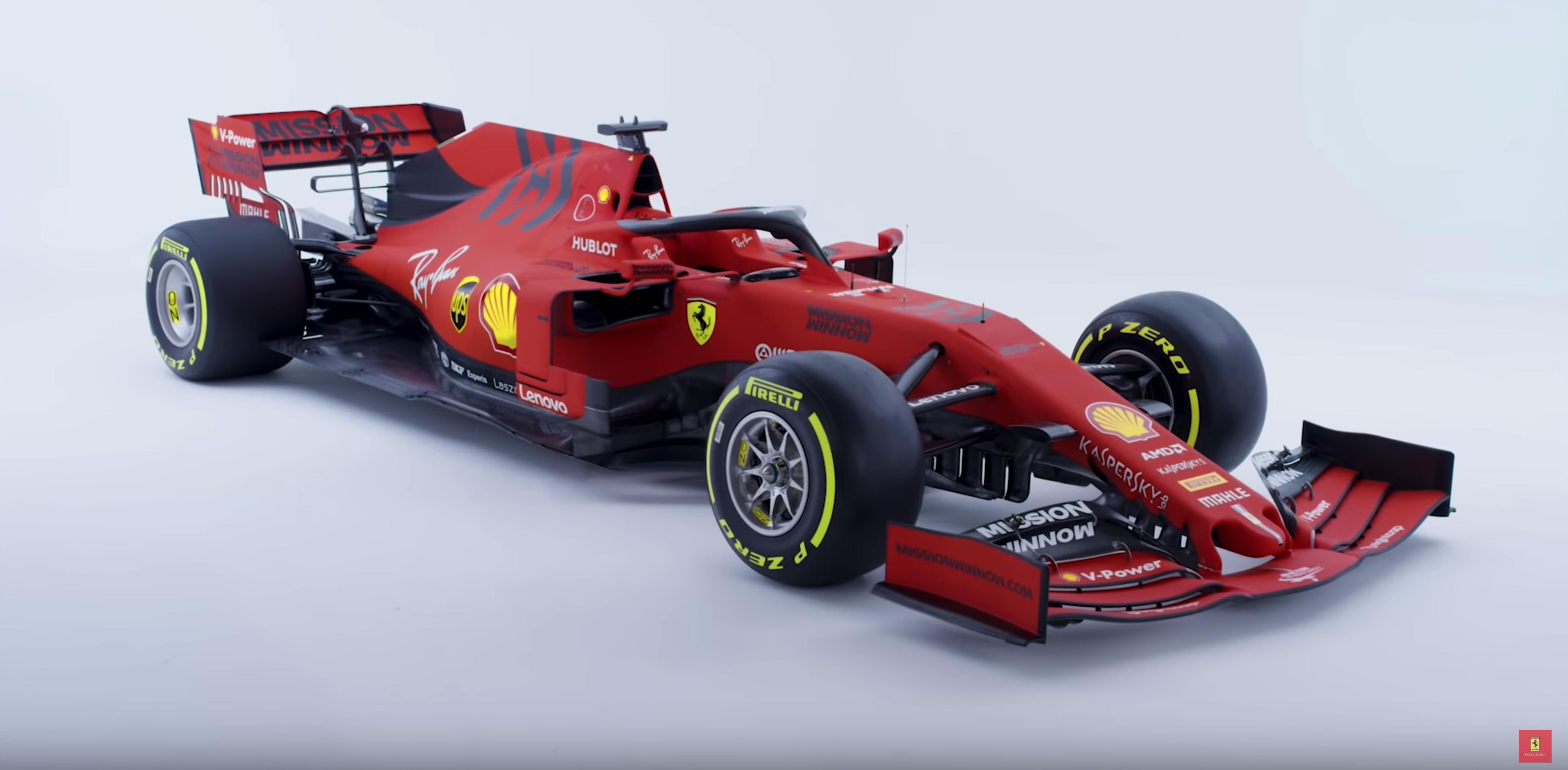 F1 Ferrari dévoile la SF90 de Vettel et Leclerc