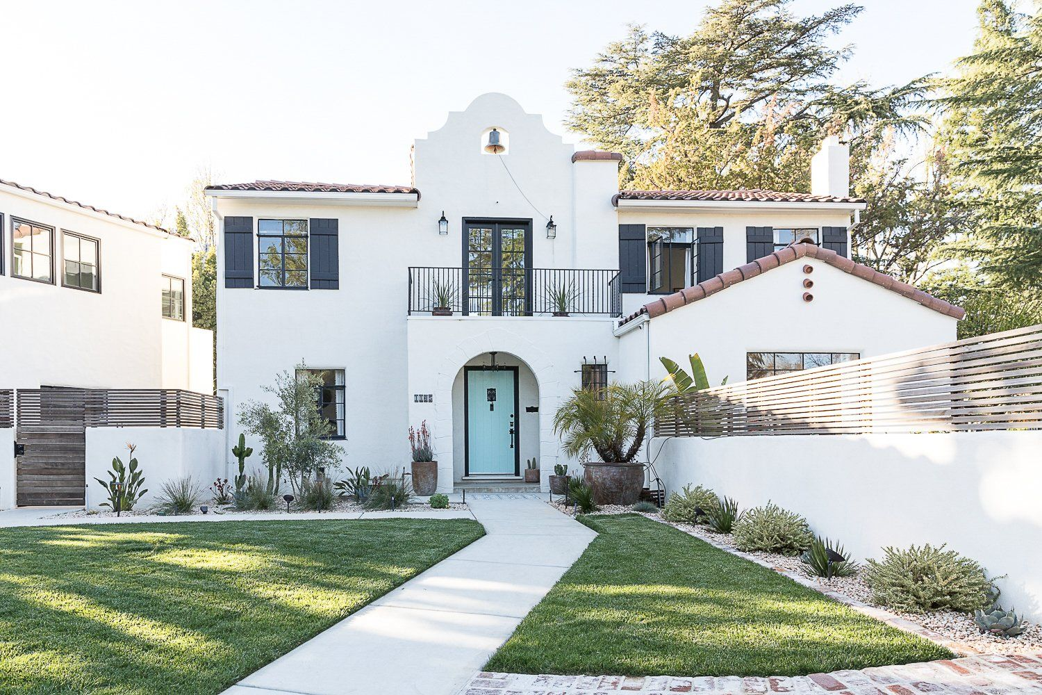 Modern Spanish By Colossus Before After Spanish Style Homes Mediterranean Homes Exterior Spanish Revival Home