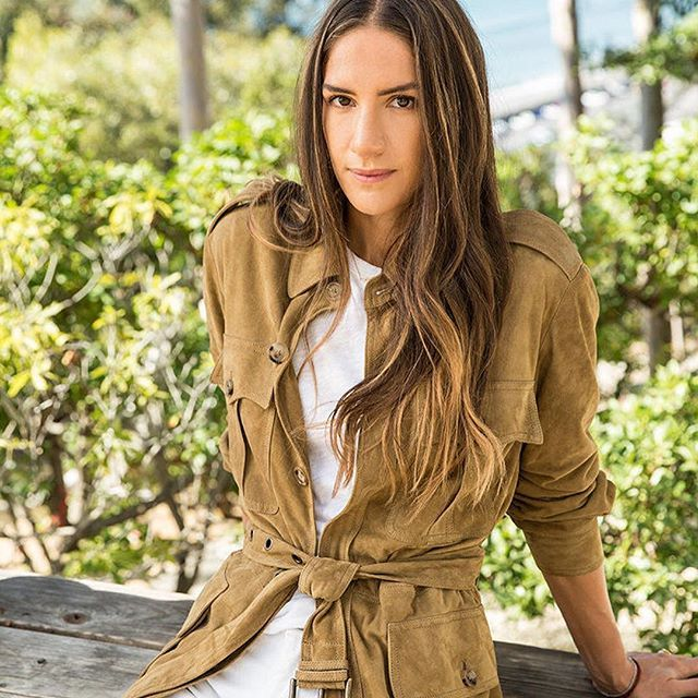 The RL Safari Jacket, West Coast style, in #LosAngeles with @GOOP and @MinnieMortimer. #RLIconicStyle