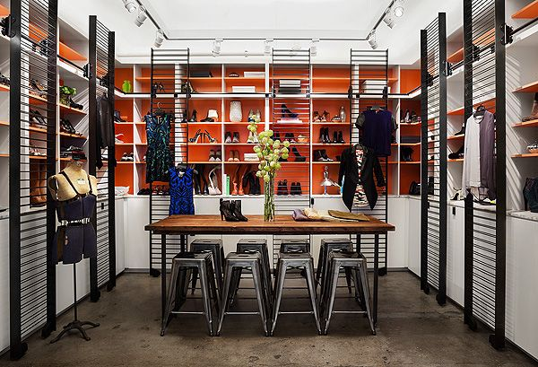 shopbop office redesign trends magazine dressing room and office