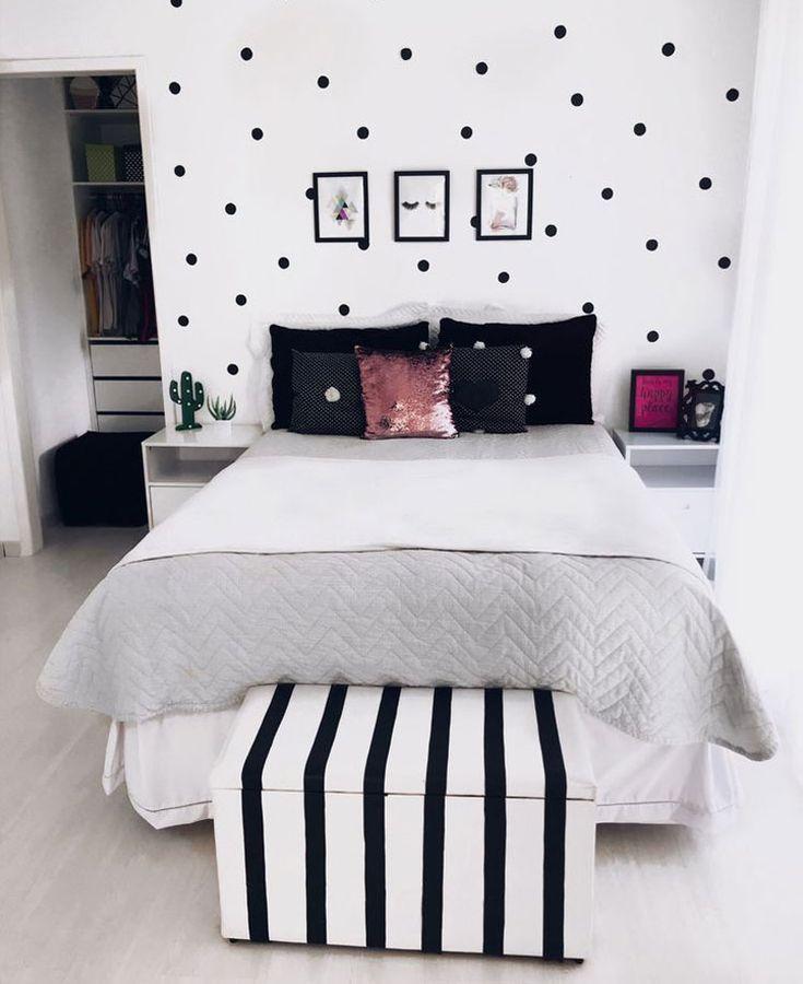 65 Lindas Ideas De Dormitorio Para Adolescentes Decoracion Elegante De La Habitacion De Las Adol 2020 Kiz Cocugu Odalari Yatak Odasi Renk Semalari Genc Kiz Odalari