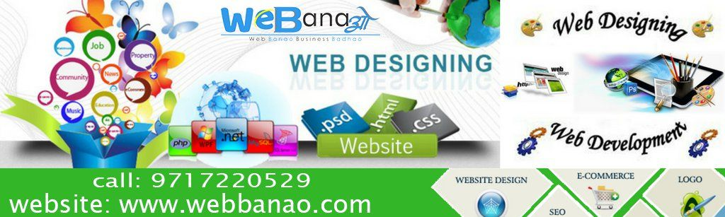 Web Banao Is The Best Website Making Company In Delhi Whether You Require A Personal Website Or A Web Design Websites Web Development Design Web Design Jobs