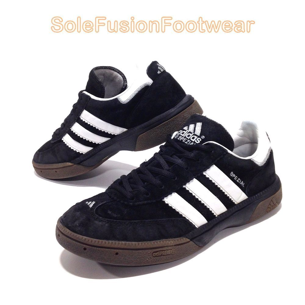 ab1611c9c adidas Men's HB SPEZIAL Sneakers Black sz 8 Samba Handball Trainers EU 42  US 8.5