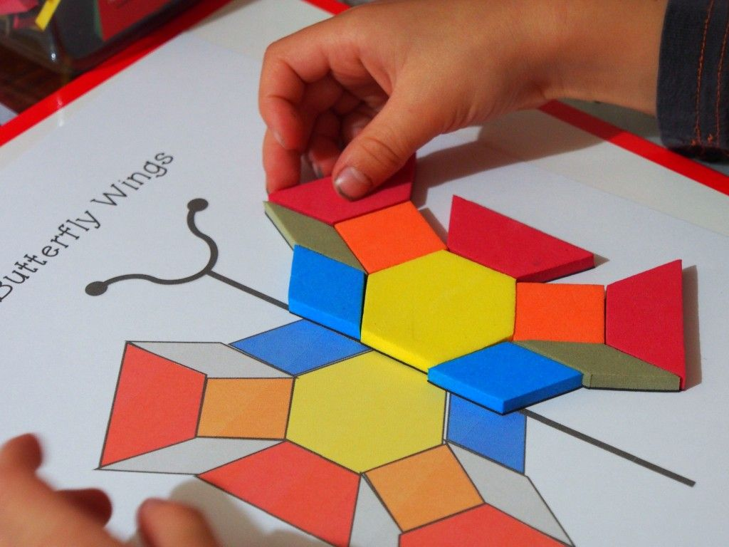 Problem Solving Activities With Pattern Blocks United