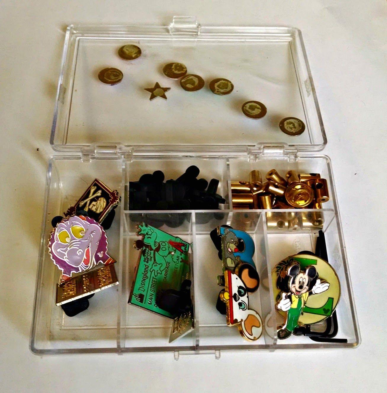 Finding BonggaMom: Inexpensive ways to store Disney trading pins