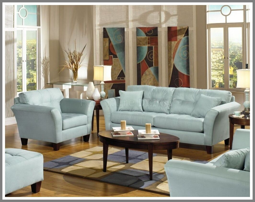 106 Reference Of Blue Leather Sofa Living Room Ideas In 2020 Blue Sofas Living Room Light Blue Sofa Living Room Light Blue Living Room