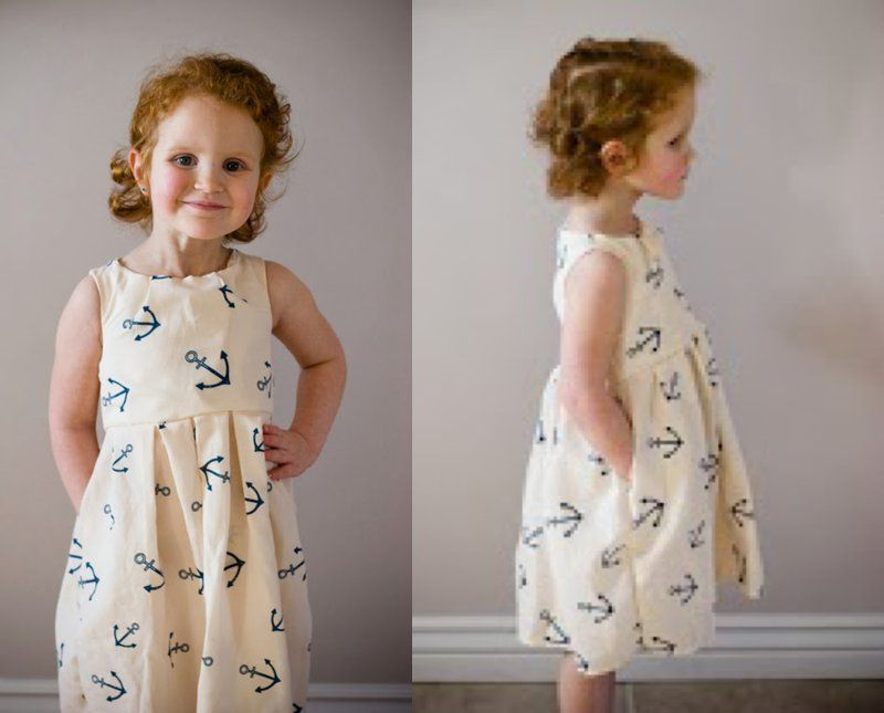 Tuileries Dress 18 months- 5T | Sewing In No Mans Land
